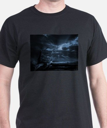 Ghost ship series: Chasing the light T-Shirt