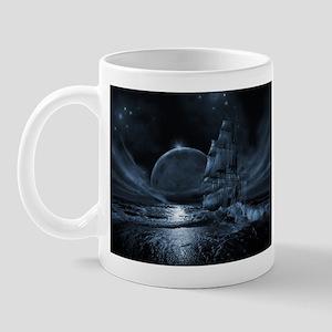 Ghost ship series: Full moon rising Mugs