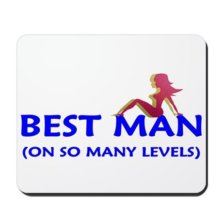 The Best Man - on so many lev Mousepad