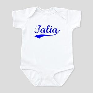 Vintage Talia (Blue) Infant Bodysuit
