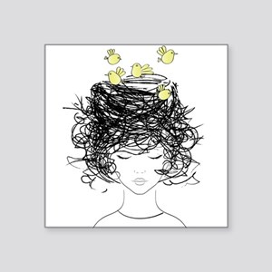 Bird's Nest Hair Sticker