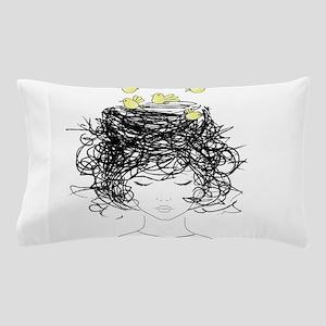 Bird's Nest Hair Pillow Case
