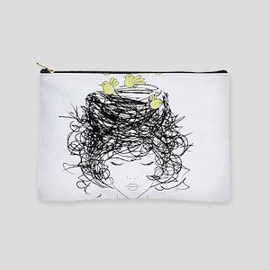 Bird's Nest Hair Makeup Bag