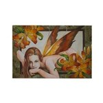 Tiger Lily Fairy Magnet