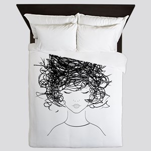 Bird's Nest Hair Queen Duvet
