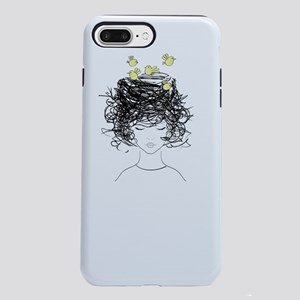 Bird's Nest Hair iPhone 8/7 Plus Tough Case