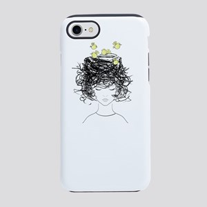 Bird's Nest Hair iPhone 8/7 Tough Case
