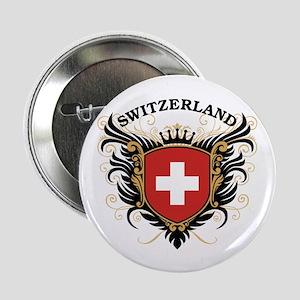 """Switzerland 2.25"""" Button"""