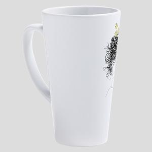 Bird's Nest Hair 17 oz Latte Mug