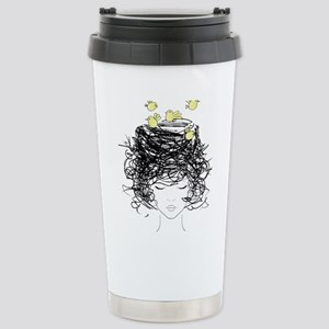 Bird's Nest Hair Mugs