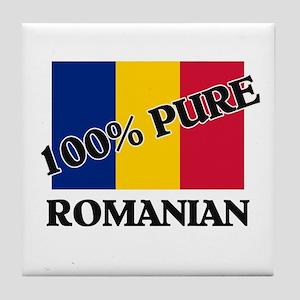 100 Percent ROMANIAN Tile Coaster