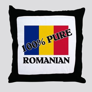 100 Percent ROMANIAN Throw Pillow