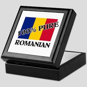 100 Percent ROMANIAN Keepsake Box