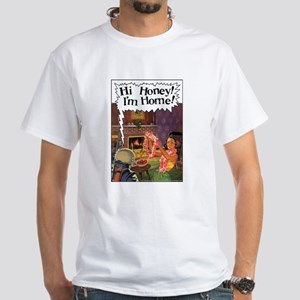 Home From Mars White T-Shirt
