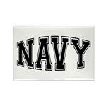 Navy Rectangle Magnet (10 pack)