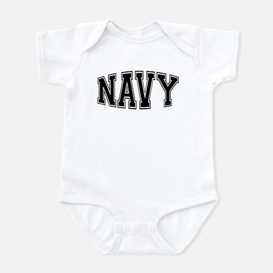 Navy Infant Bodysuit