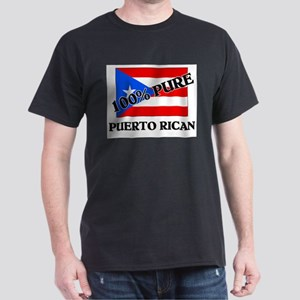100 Percent PUERTO RICAN Dark T-Shirt