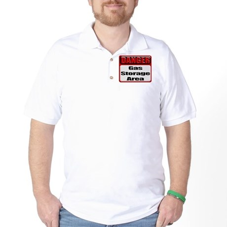 Gas Storage Area Golf Shirt