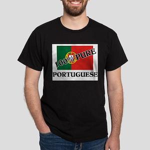 100 Percent PORTUGUESE Dark T-Shirt