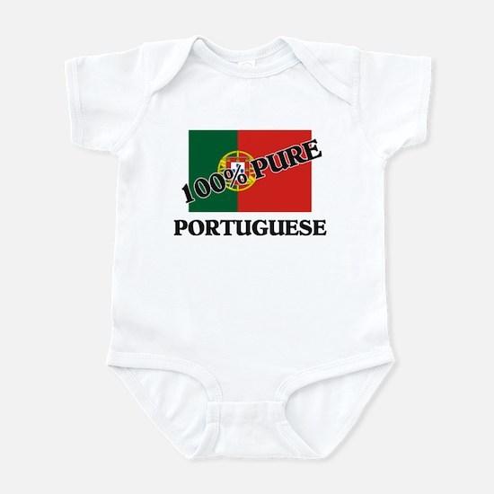 100 Percent PORTUGUESE Infant Bodysuit