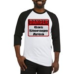 Gas Storage Area Baseball Jersey