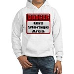 Gas Storage Area Hooded Sweatshirt
