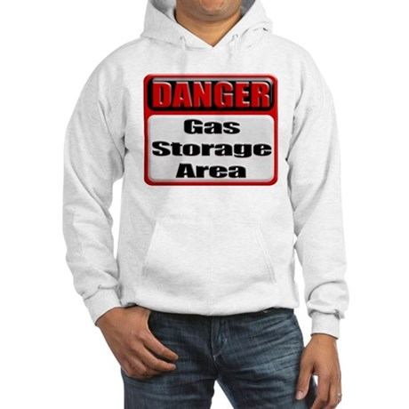 Gas Storage Area Hooded Sweatshirt