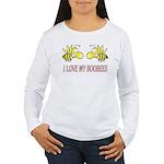 I Love My Boobees Women's Long Sleeve T-Shirt