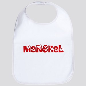 Marshal Profession Heart Design Baby Bib