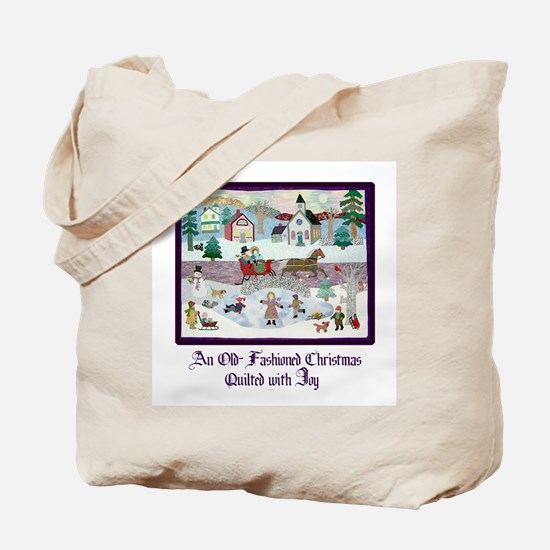 Quilted Christmas - Quilting Tote Bag