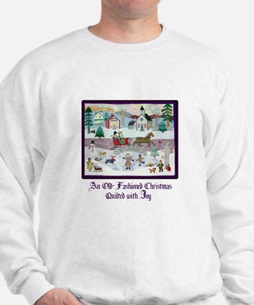 Quilted Christmas - Quilting Sweatshirt