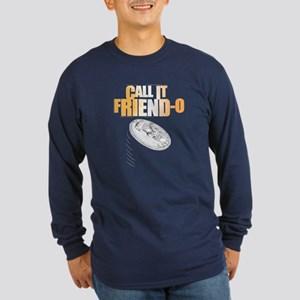 Friendo Long Sleeve Dark T-Shirt