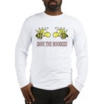 Save the boobees without ribbon Long Sleeve T-Shir