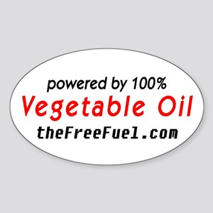 Powered by Stickers (Oval)