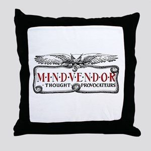 Mindvendor Throw Pillow