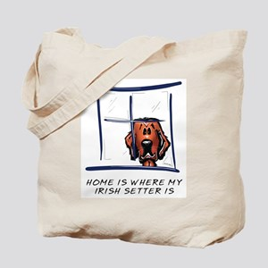Home is Where My Setter Is Tote Bag