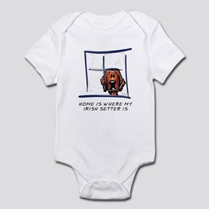 Home is Where My Setter Is Infant Bodysuit