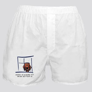 Home is Where My Setter Is Boxer Shorts