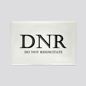 Do Not Resuscitate Rectangle Magnet