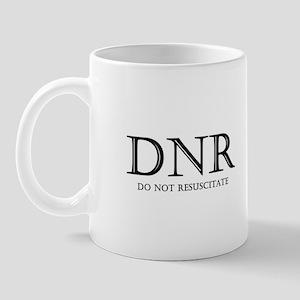 Do Not Resuscitate Mug