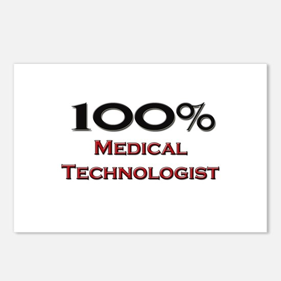 100 Percent Medical Technologist Postcards (Packag