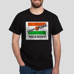 100 Percent NIGERIAN Dark T-Shirt