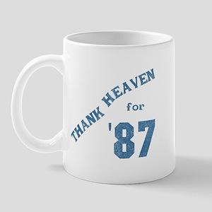 Thank Heaven for '87 Mug