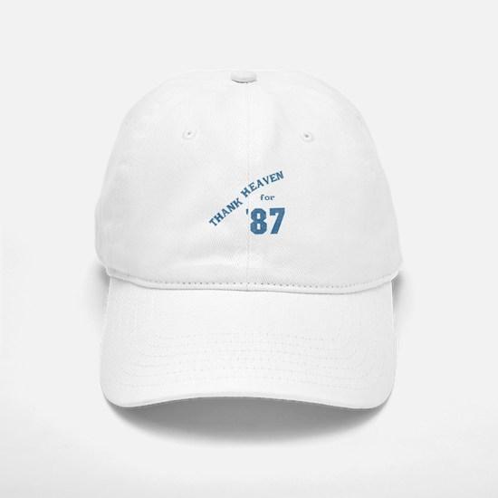 Thank Heaven for '87 Baseball Baseball Cap