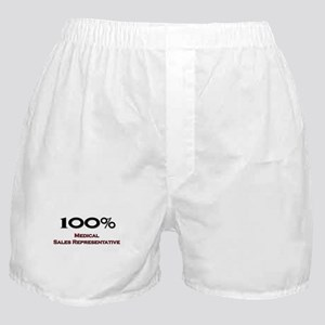 100 Percent Medical Sales Representative Boxer Sho