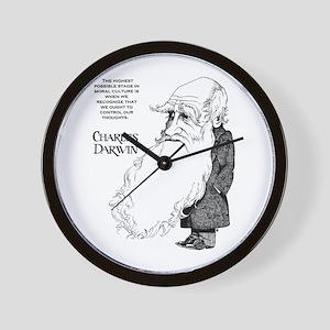 Darwin Wall Clock