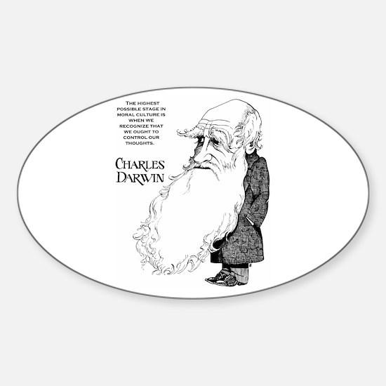 Darwin Oval Decal