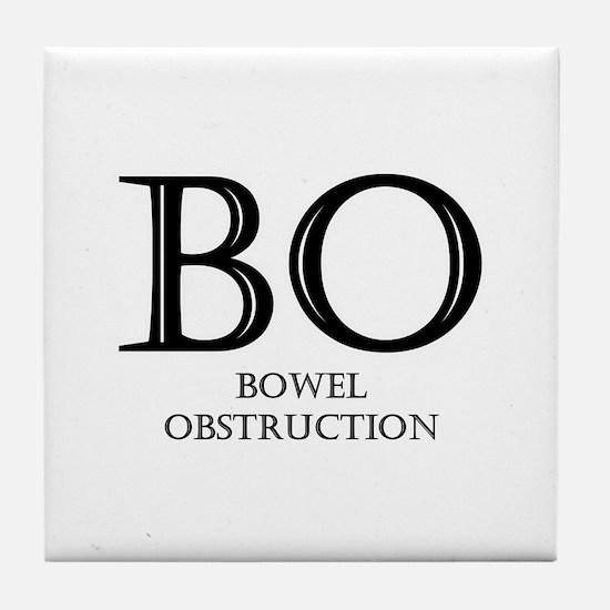 Bowel Obstruction Tile Coaster