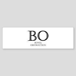 Bowel Obstruction Bumper Sticker