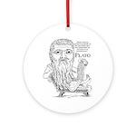 Plato Ornament (Round)